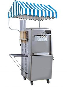 παγωτομηχανή με τεντάκι